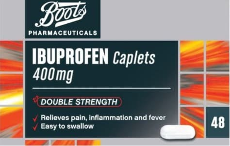 ibuprofène, Laboratoire Boots