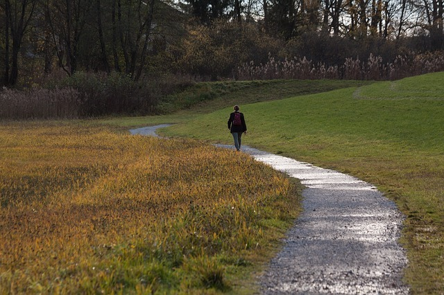 La marche est bénéfique pour la santé