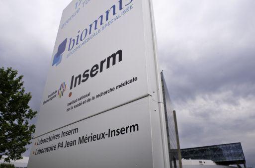 Photo © Inserm, P. Latron - Bâtiments du laboratoire P4 Jean Mérieux/Inserm et du CERVI,