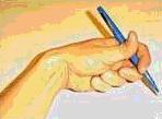 Crampe de l'écrivain