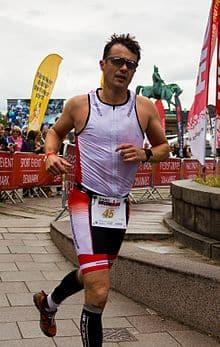 Frederik running