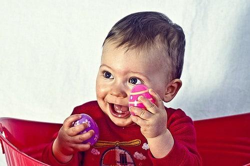 Bébé âgé de 9 mois