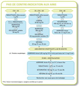 Stratégie d'Analgésie du lumbago chez sujet ne présentant pas de contre-indications aux AINS