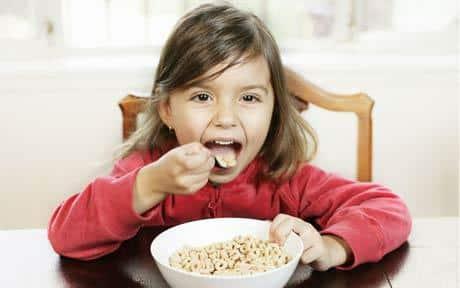 Alimentation chez l'enfant